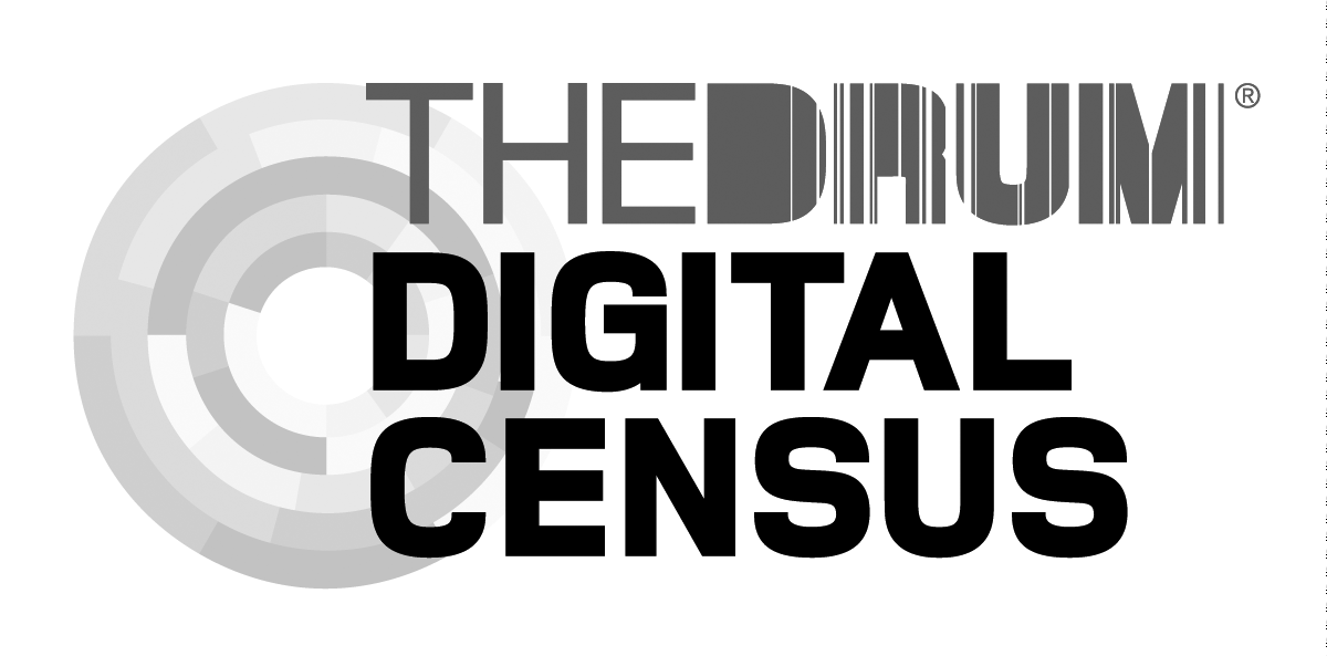 Award-winning marketing agency winning The Drum Digital Census logo